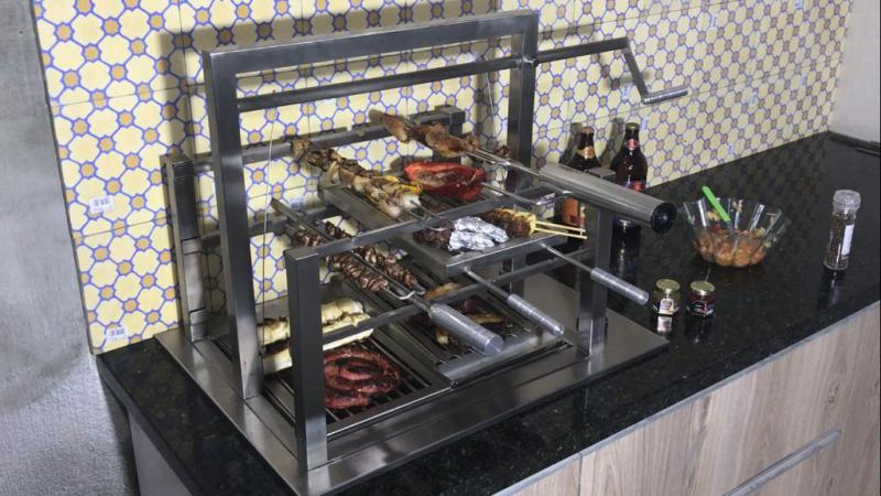 Churrasqueira gourmet
