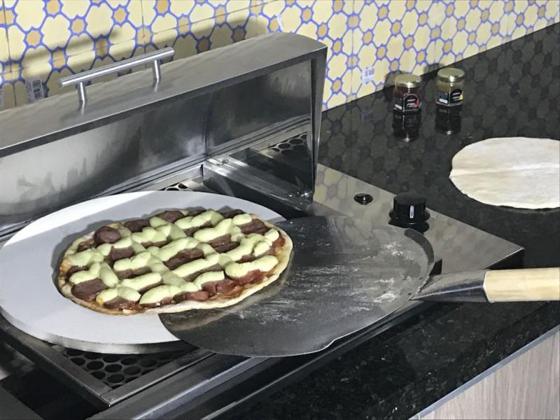 Forno de pizza para apartamento