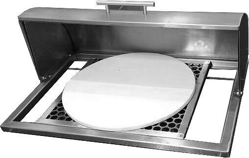 Forno de pizza para embutir na churrasqueira