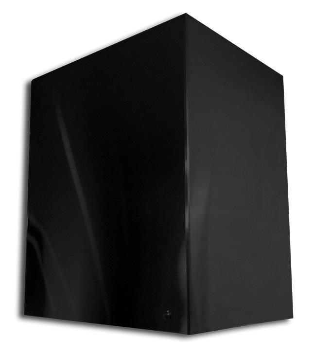 Coifa com pintura eletrostática preta